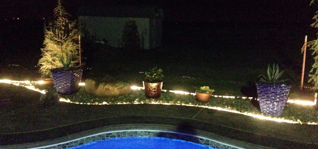 3 Borderline Genius Ways to Use Rope Light In Your Backyard!