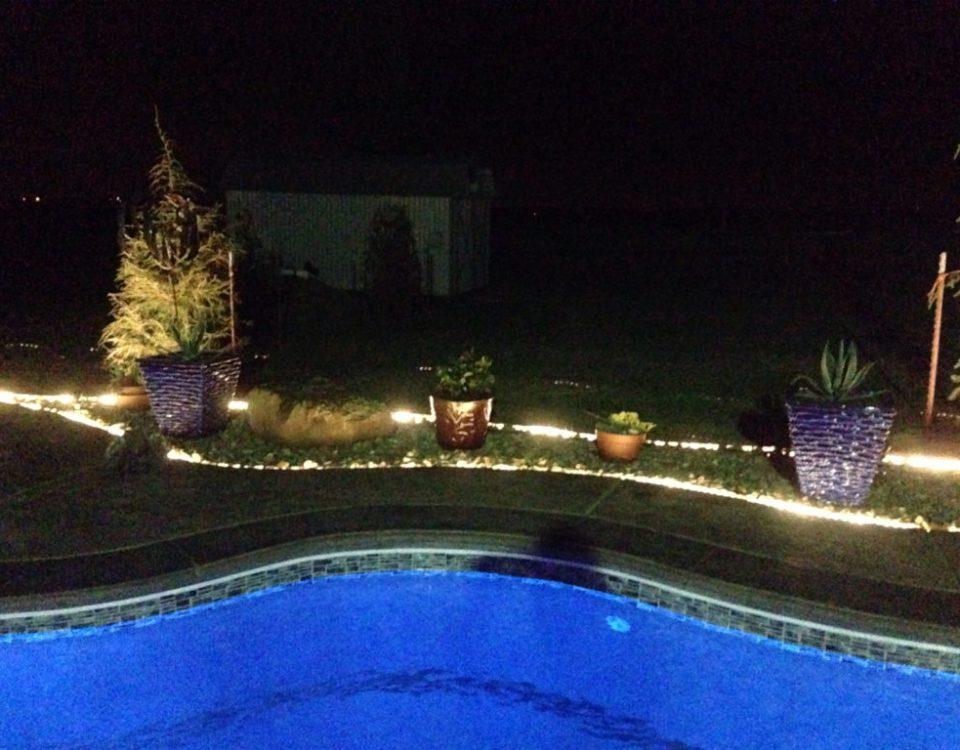 3 Borderline Genius Ways to Use Rope Light In Your Backyard!